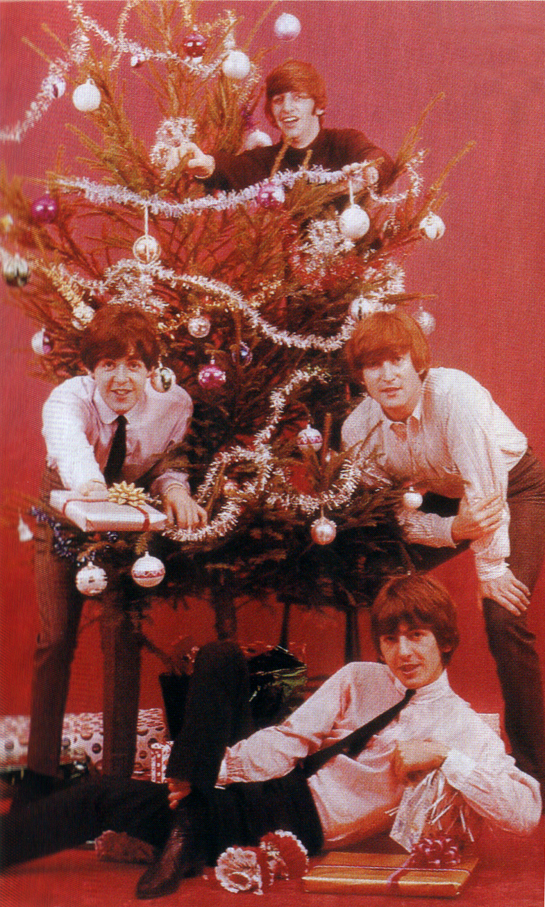 beatles christmas tree